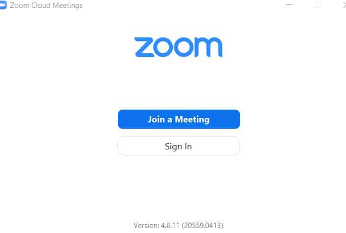 Zoom sign in how to do it